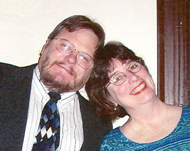 Victor Stanwick and Susan Fowler. Photo by Mae Seeley.